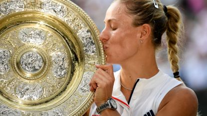 Kerber heeft revanche beet: Duitse verslaat Serena Williams in Wimbledon-finale en vereffent zo twee jaar oude rekening