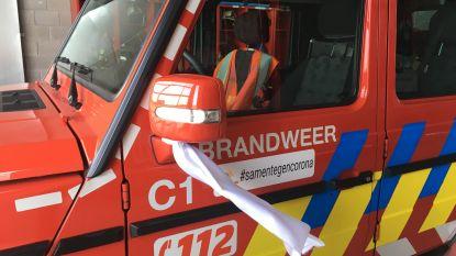 Brandweerzone Rivierenland toont solidariteit aan zorgverleners