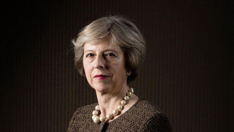 In de woelige referendumtijd heeft ze een reputatie verworven als rots in de branding Beeld Justin Sutcliffe / eyevine / HH