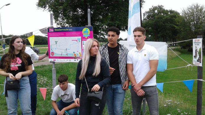 De jongerenambassadeurs van de gemeente Heusden