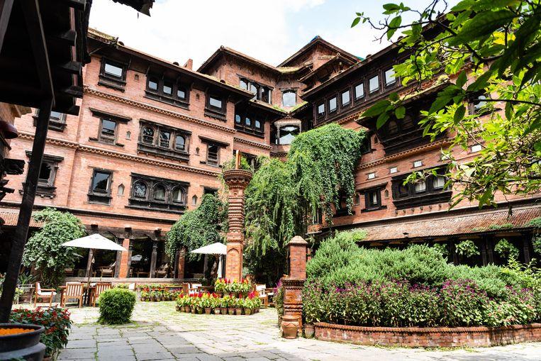 Dwarika's Hotel is met afstand het beste en smaakvolste logeeradres in de stad.  Beeld Katja Poelwijk