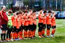 Herdenkingsdag bij voetbalclub Desto na verlies van jeugdtrainer Rinke Terpstra.
