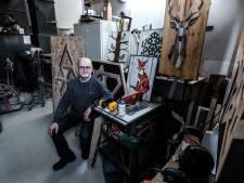 Rob overspoeld met karton en suède voor zijn dierfiguren: 'Het overdonderde me'