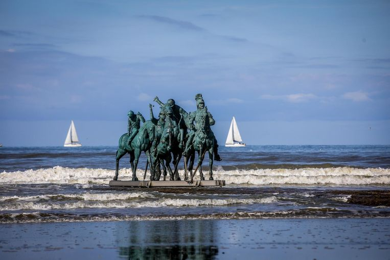 'Men' van Nina Beier in Nieuwpoort.