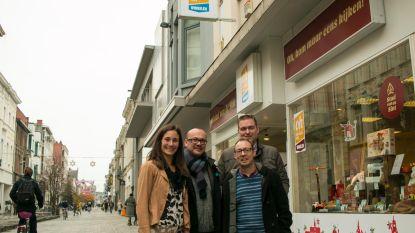 Toch nog één jaar 'retail lab' in Stationsstraat