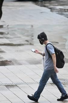 La ville où il est interdit de regarder son téléphone en marchant