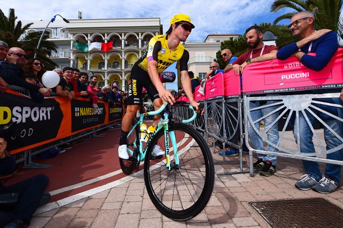 Primoz Roglic impressionne enore sur le Giro.
