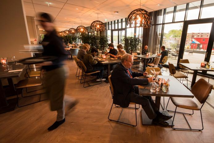 Een elegant restaurant op de UT-campus.