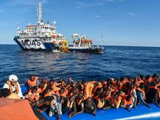 'Oorlog' op zee tegen redders vluchtelingen