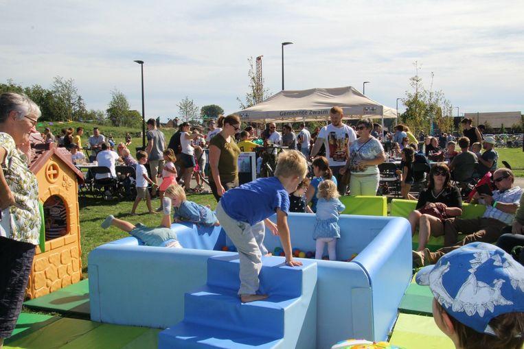 De Openspelendag lokte maar liefst 407 kinderen.