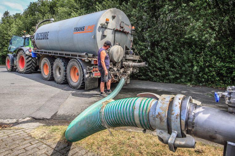 Landbouwers mogen water oppompen bij Aquafin