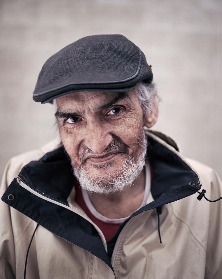Julius Kowsoleea: 'Als de heroïne verdwijnt, krijg je er leegte voor terug.' Beeld Marc Driessen