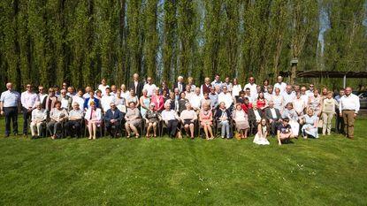 Familie De Sutter met 78 familieleden bij elkaar op vijfjaarlijkse reünie