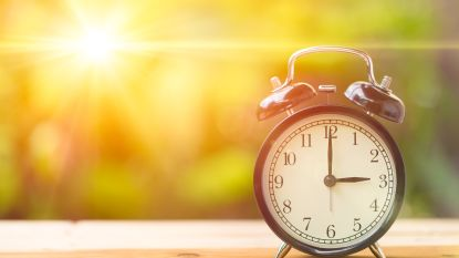 Vlaming heeft gemiddeld drie dagen nodig om overgang naar zomertijd te verteren
