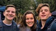 Trio naar Compostella voor Make-A-Wish