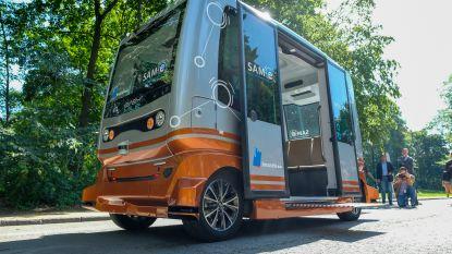 MIVB doet eerste testrit met zelfrijdende busjes