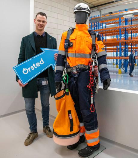 Vanaf deze plek gaat Ørsted werken aan de windmolenparken voor de Zeeuwse kust