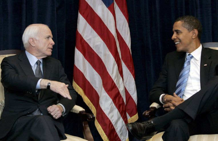 De voormalige rivalen willen een 'nieuw tijdperk van hervormingen' lanceren. Foto EPA Beeld