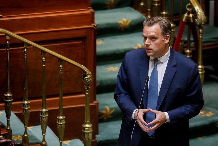 Telecomminister Philippe De Backer
