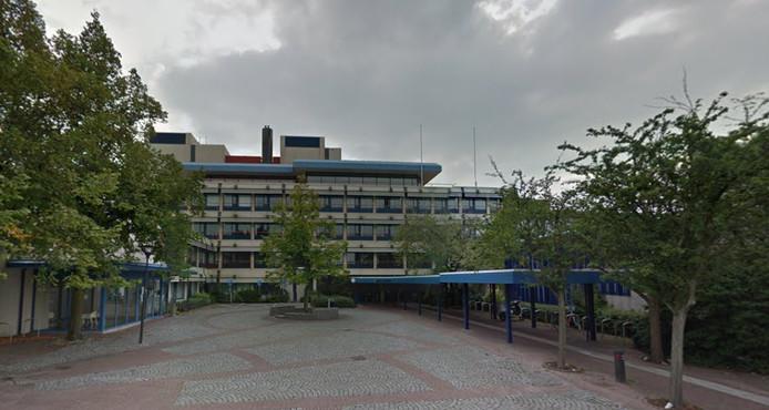 Het gemeentehuis van Maassluis.