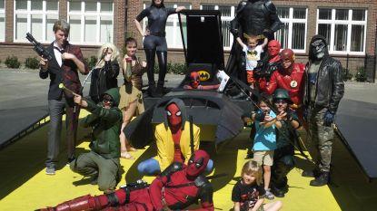 Superhelden en Stormtroopers houden halt in VTI