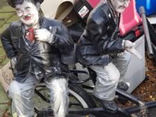 Gestolen 'Laurel en Hardy' terug bij eigenaar in Almelo