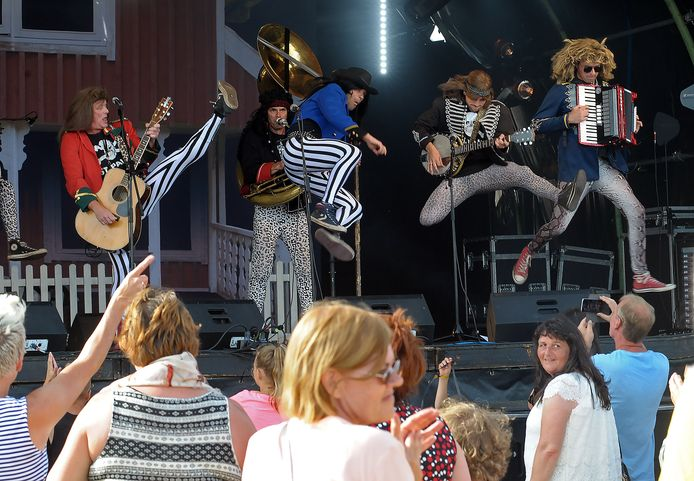 Blaas of Glory speelde eerder Vestrock en festival De Ballade (foto)  plat. Op 15 mei staan ze op Circus Vliet in Terhole.