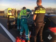 Slingerende bestuurder op A1 was niet dronken maar onwel