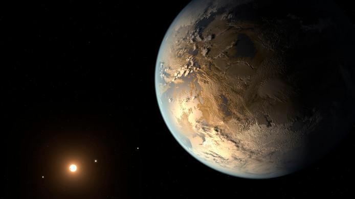 La vie pourrait être présente sur cette planète.