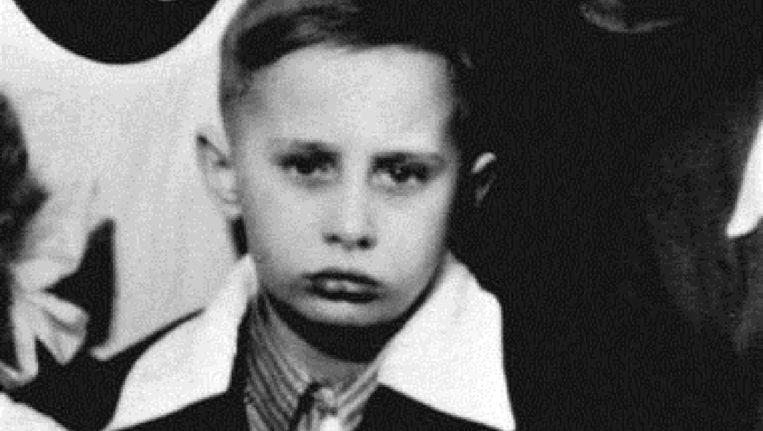 Een klasfoto van Vladimir Poetin in St. Petersburg, toen nog Leningrad genaamd, uit circa 1960.