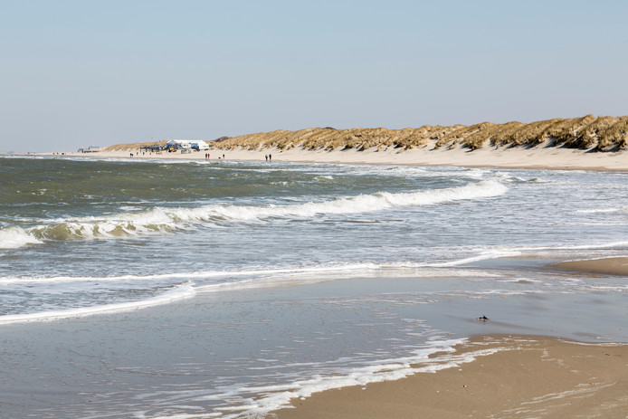 Het strand bij Renesse.
