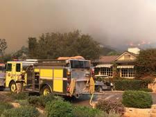Meer evacuaties door brand Californië