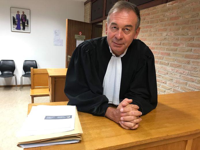 Advocaat Alain Coulier was dinsdag zelf burgerlijke partij.