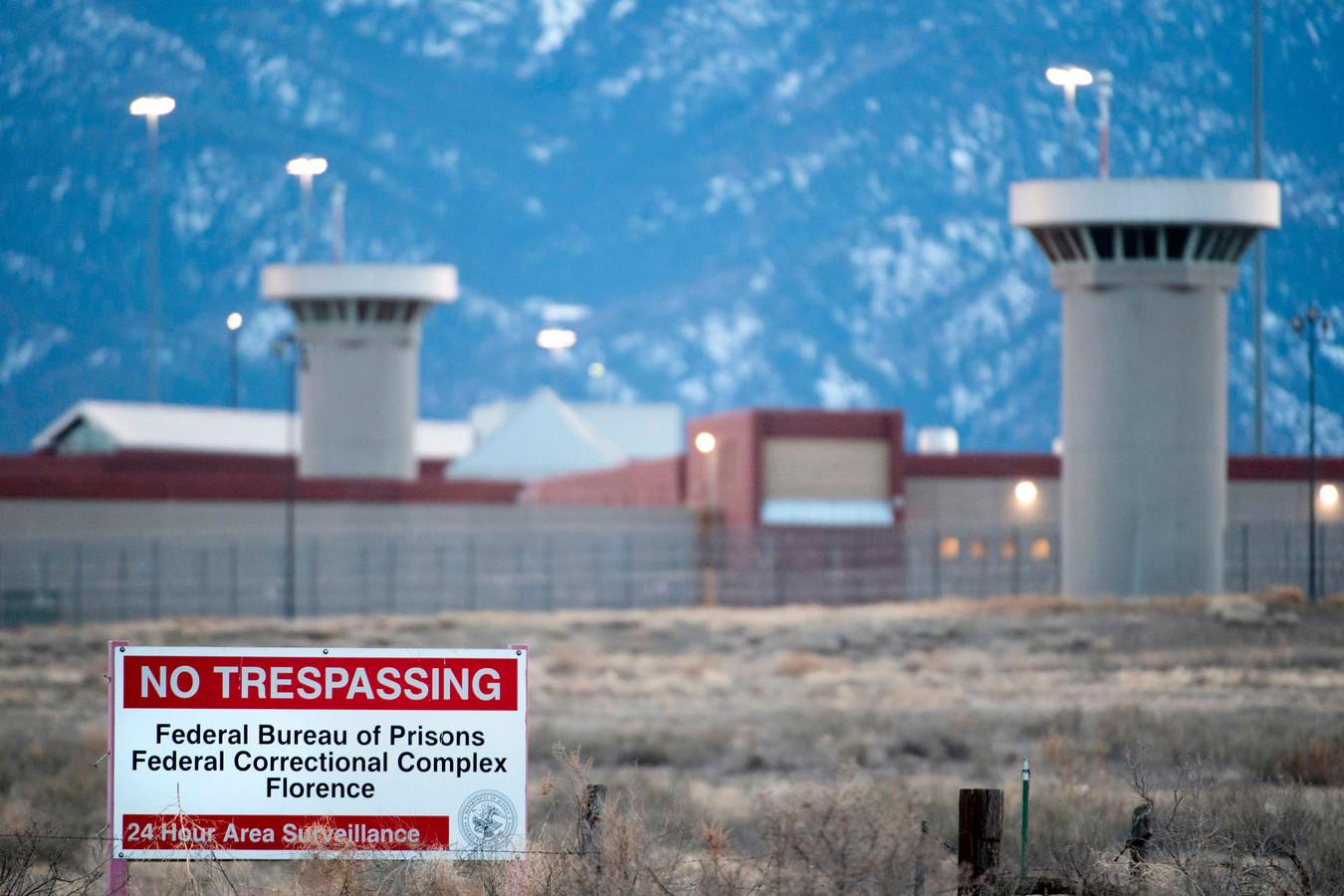 ADX or 'Supermax', in Florence, de best bewaakte gevangenis van de Verenigde Staten en het nieuwe thuisadres van El Chapo.