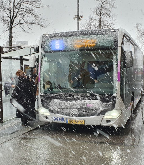 Januari toch écht winters: sneeuw in noorden van het land