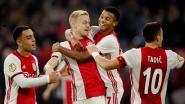 Ajax vernedert zwalpend Feyenoord na flitsende eerste helft