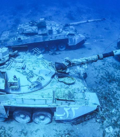 Zo ziet een militair onderwatermuseum eruit