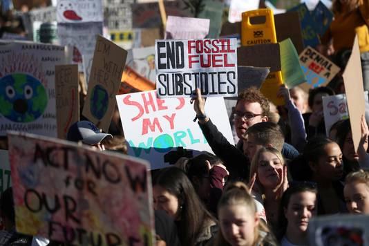 Le mouvement Youth for climate rassemble des milliers de jeunes chaque jeudi depuis le début de l'année 2019.