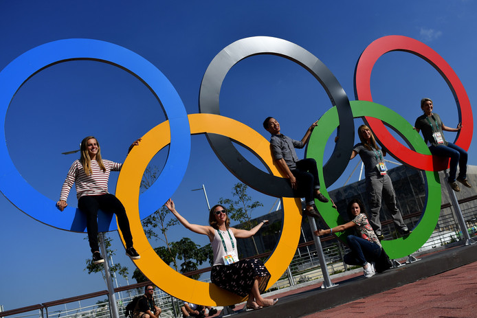 Het olympisch park in Rio de Janeiro.