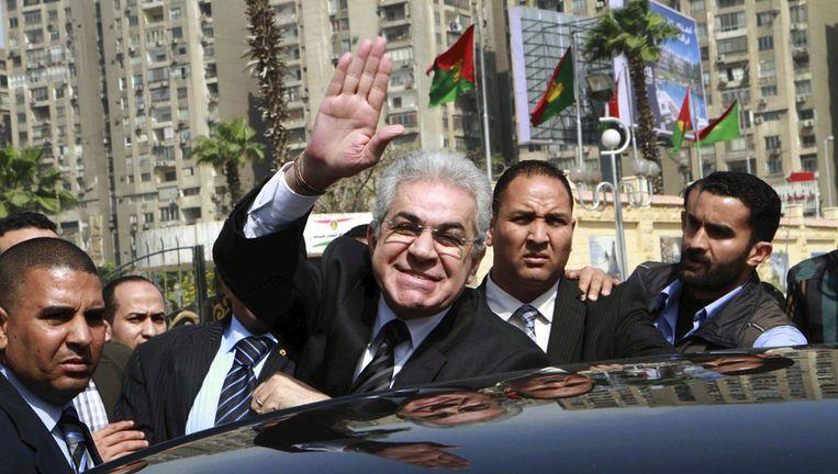 De Egyptische presidentskandidaat Hamdeen Sabahi.