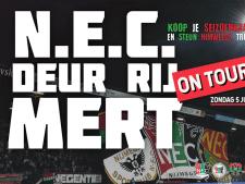 Spelersbus NEC crosst dwars door stad en streek om seizoenkaarten te verkopen: 'Deur rij mert on tour'
