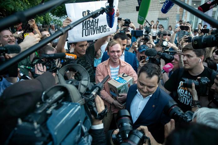 """Het plotselinge schrappen van de aanklacht wekte verbazing bij collega's van Goloenov: ,,Normaal duurt zo'n traject maanden."""""""