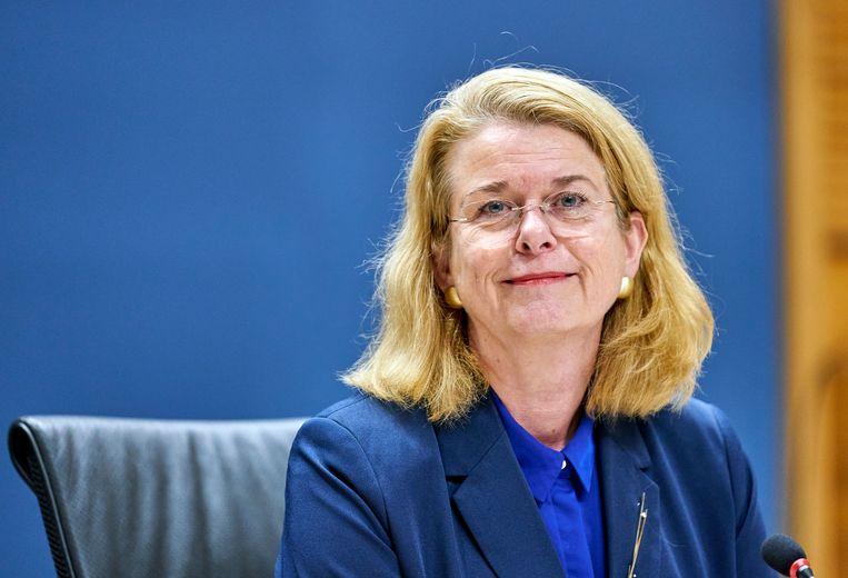 Oud-burgemeester van Den Haag Pauline Krikke. Beeld Phil Nijhuis