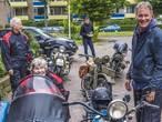 Hartenwens Anne Dries (79) komt uit: ritje in de zijspan