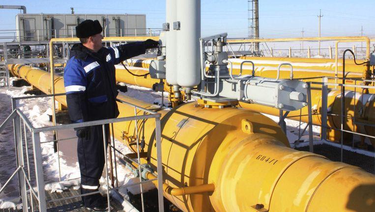 Gaspijpleiding in Rusland. Beeld ap