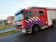 Isolatiemateriaal in brand bij KPN-kantoor in Amersfoort
