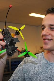 Middelburger volgt kitesurfers op de voet en maakt beste dronevideo van het jaar