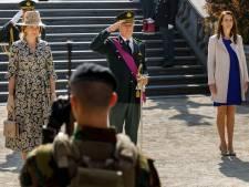 Commémoration du 75e anniversaire de la Libération en présence du Roi