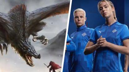 De indrukwekkende video waarmee nationale ploeg van IJsland nieuw logo én shirts voorstelt