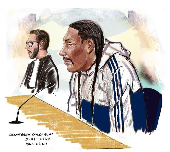 Sterlin S. is veroordeeld tot 7 jaar cel en tbs voor het doden van zijn ex-vrouw Marley in Rotterdam.